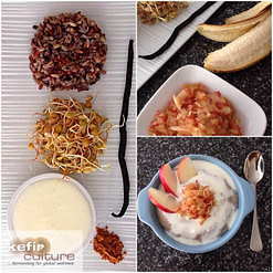 Milk Kefir Porridge