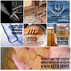Types of water – which are best for your kefir grains?