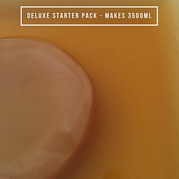 Organic Kombucha - Deluxe Starter Pack - 3.5L